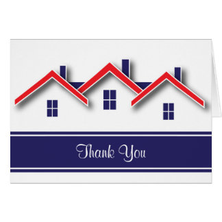 Real Estate Thank You Note Card