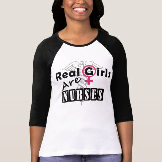 Real Girls Are Nurses Shirt