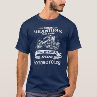 Real Grandpas Ride Motorcycle T-Shirt