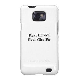Real Heroes Heal Giraffes Galaxy S2 Covers