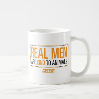 Real Men are Kind to Animals Mug