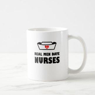Real Men Date Nurses Coffee Mug