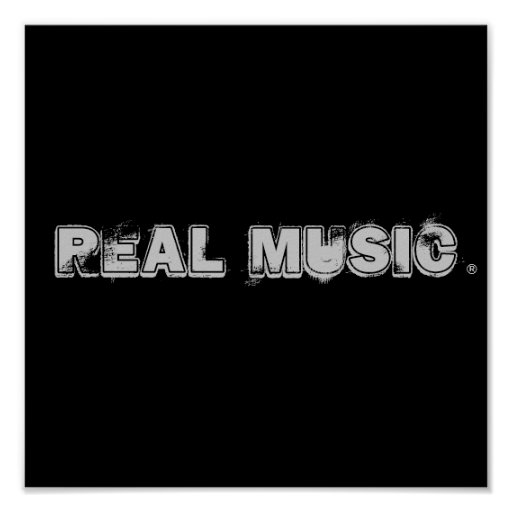 Real Music® Poster