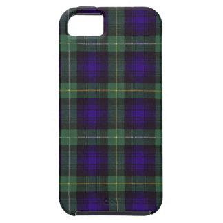 Real Scottish tartan - Campbell of Argyll Tough iPhone 5 Case