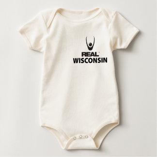 REAL Wisconsin Baby Bodysuit