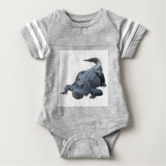 Realistic Alligator Baby Bodysuit