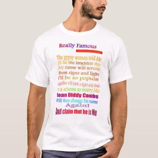 """""""Really Famous"""" - Angelina & Brad T-Shirt"""