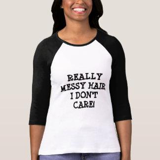Really Messy Hair T-Shirt