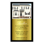 Realtor B/W Photo Script Gold Metallic Pack Of Standard Business Cards