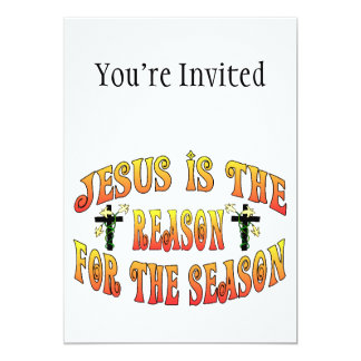 Reason For The Season Easter 13 Cm X 18 Cm Invitation Card