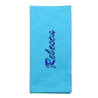 Rebecca blue cloth napkins