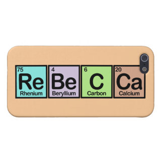 Rebecca made of Elements Case For The iPhone 5