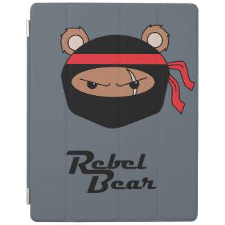 Rebel Bear Ninja iPad Cover