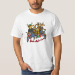 Rebels without a Claus Reindeer Holiday Cartoon Shirts