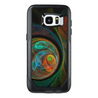Rebirth Blue Abstract Art OtterBox Samsung Galaxy S7 Edge Case