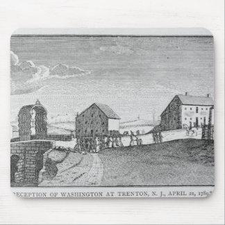 Reception of Washington at Trenton, New Jersey Mouse Pad