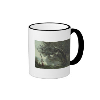 Recollections of Mortefontaine, 1864 Ringer Mug