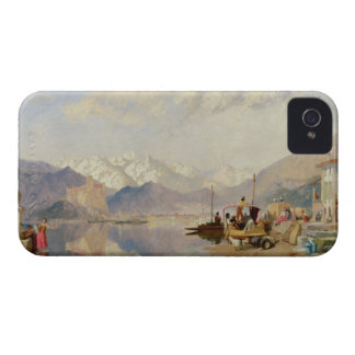 Recollections of the Lago Maggiore, Market Day at iPhone 4 Case-Mate Cases