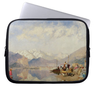 Recollections of the Lago Maggiore, Market Day at Laptop Sleeves