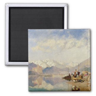 Recollections of the Lago Maggiore, Market Day at Square Magnet
