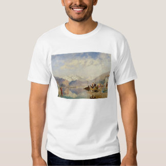 Recollections of the Lago Maggiore, Market Day at Tshirts