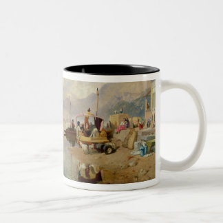 Recollections of the Lago Maggiore, Market Day at Two-Tone Mug