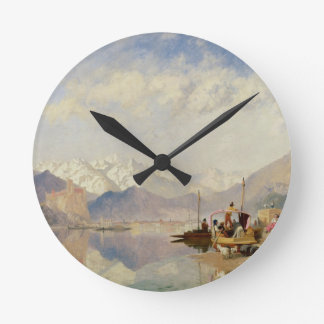 Recollections of the Lago Maggiore, Market Day at Wall Clocks