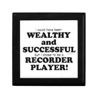 Recorder Wealthy & Successful Jewelry Box
