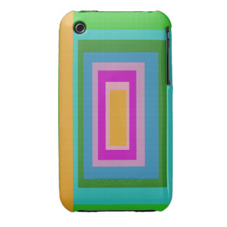 Rectangles iPhone 3 Case-Mate Cases