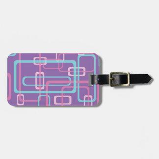 Rectangular Sherbet Luggage Tag
