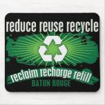 Recycle Baton Rouge Mousepads