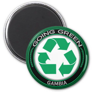 Recycle Gambia Magnet