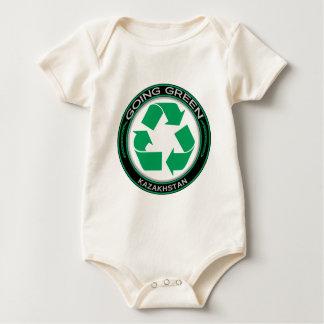 Recycle Kazakhstan Baby Bodysuit