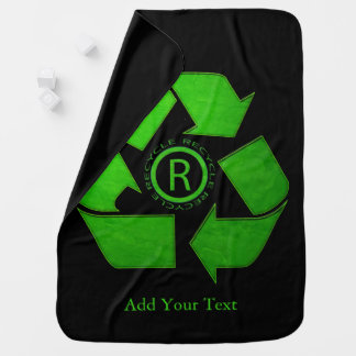 Recycle Logo by Shirley Taylor Baby Blanket