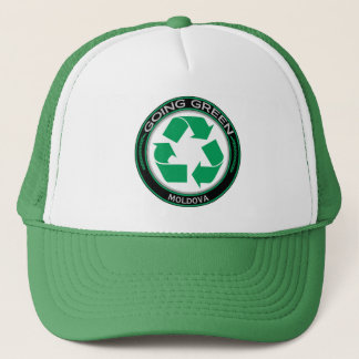 Recycle Moldova Trucker Hat