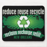 Recycle New Orleans Mousepads