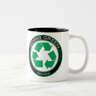 Recycle Rwanda Two-Tone Coffee Mug