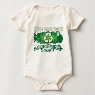 Recycle Sacramento Baby Bodysuit