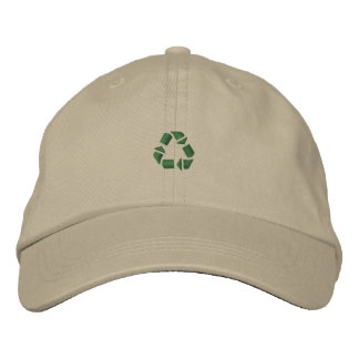 Recycle Symbol Small Embroidered Hat