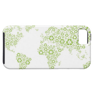 Recycle symbols used to create the planet iPhone 5 cover