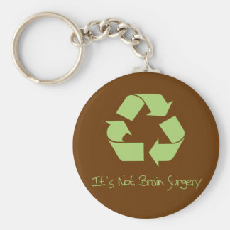 Recyle it's Easy Key Ring