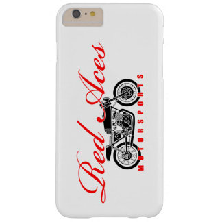 Red Aces Motorsports, Vintage Motorcycle iphone Barely There iPhone 6 Plus Case