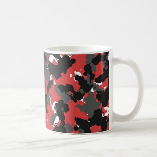 Red Alert Camo Basic White Mug