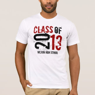 Red and Black - Class of 2013 T-Shirt