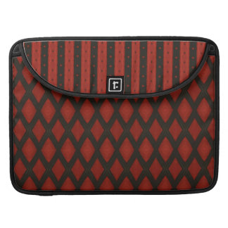 "Red and Black  Macbook Pro 13""  laptop sleeve"