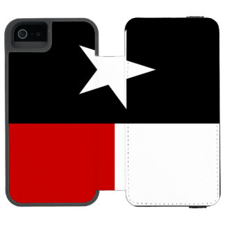 Red and Black Texas Flag Incipio Watson™ iPhone 5 Wallet Case