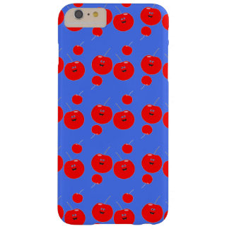 Red And Blue Cherry Pattern Barely There iPhone 6 Plus Case