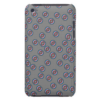 Red and blue dot Ipod case iPod Case-Mate Case