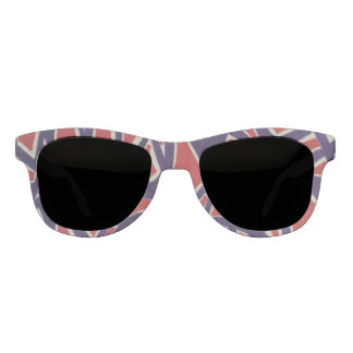 Red and blue flag sunglasses