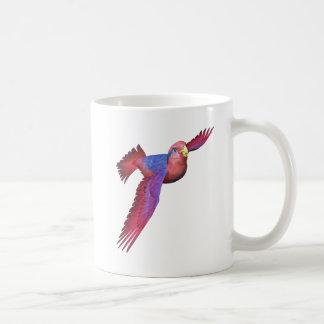 Red and Blue Lory Coffee Mug